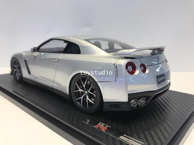 Ignition Model 1:18 Nissan GT-R35 Premium Edition Ultimate Metal Sil IG1910 3