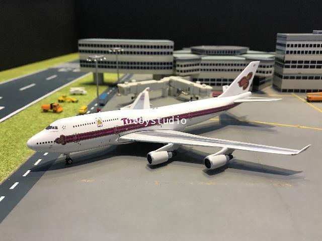 Phoenix 1:400 Thai 747-400 HS-TGA W/logo PH1647 1