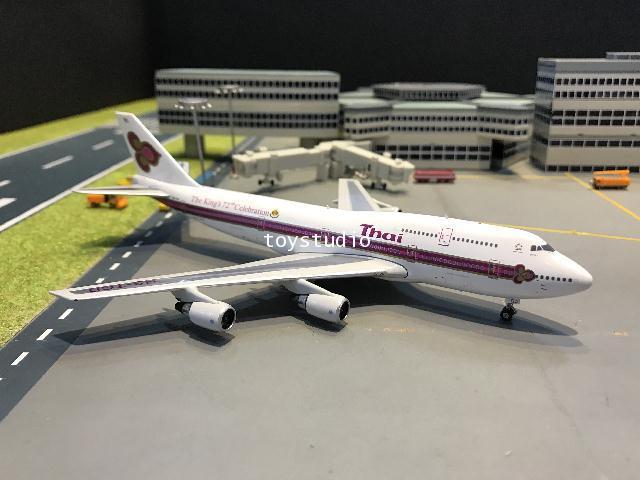 Phoenix 1:400 Thai 747-300 HS-TGD W/logo PH1648