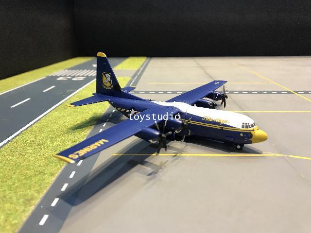 Gemini Jets 1:200 US Marines Blue Angels C-130J 170000 G2921