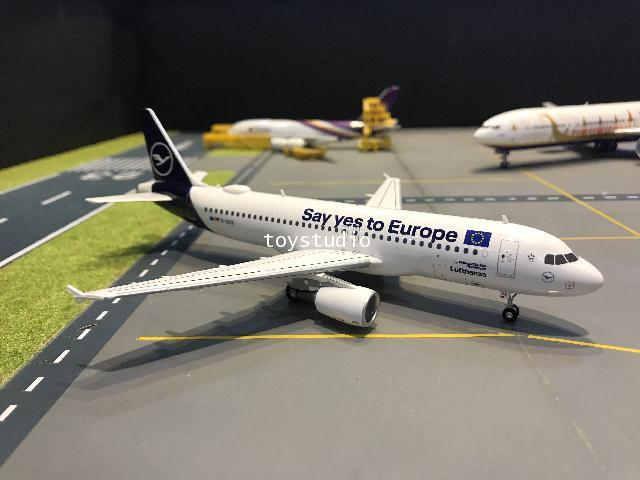 Herpa Wings 1:200 Lufthansa A320 Say yes to Europe D-AIZG HW559997