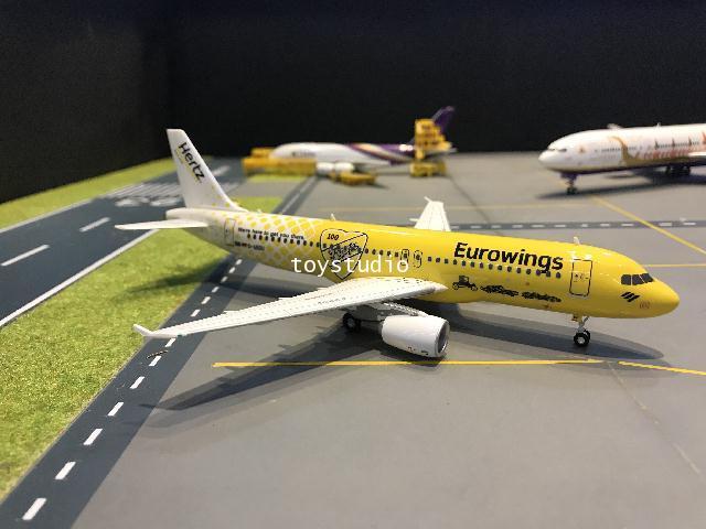 Herpa Wings 1:200 Eurowings A320 Hertz 100 Yrs D-ABDU HW559904