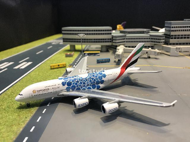 Herpa Wings 1:500 Emirates A380 Expo 2020 A6-EOC HW533713 1