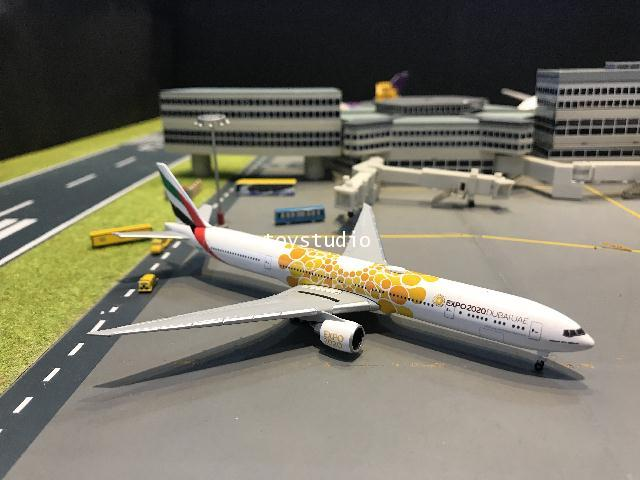 Herpa Wings 1:500 Emirates 777-300ER Expo 2020 A6-ECD HW533539