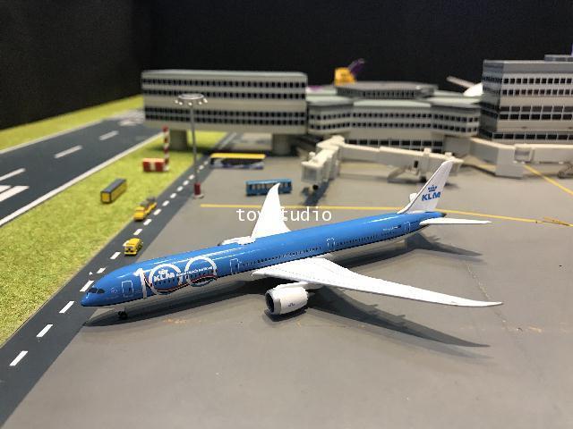 Herpa Wings 1:500 KLM 787-10 100th Ann PH-BKA HW533751 1