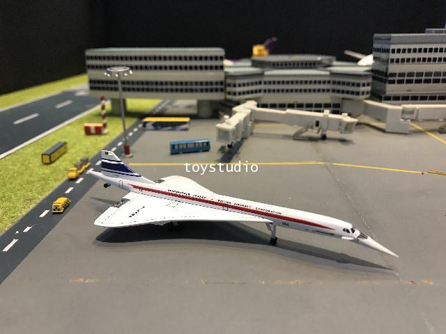 Herpa Wings 1:500 Concorde 50 Years F-WTSA HW533607