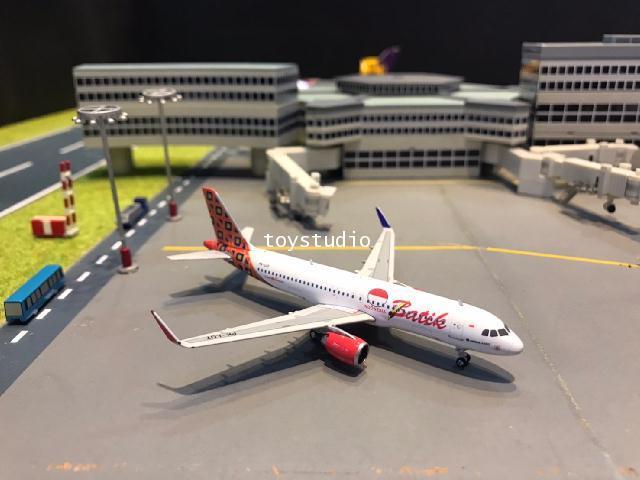 Phoenix 1:400 Batik Air A320 PK-LUT PH1655