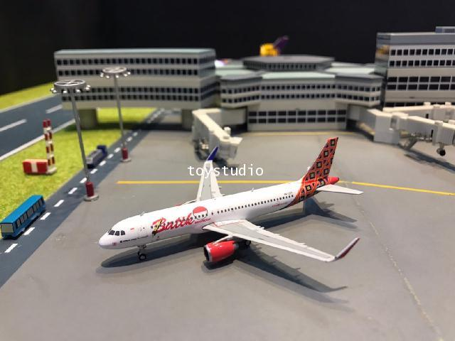 Phoenix 1:400 Batik Air A320 PK-LUT PH1655 1