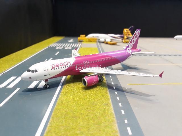 JFox 1:200 Peach A320 JA828P JFA320037 1