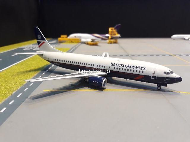 JC Wings 1:200 British 737-400 G-DOCU EW2734001
