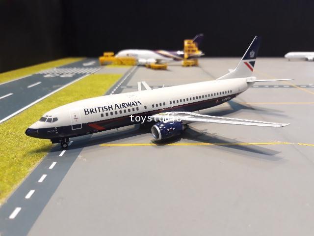 JC Wings 1:200 British 737-400 G-DOCU EW2734001 1