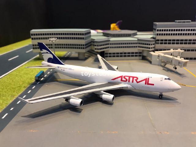 JC Wings 1:400 Astral Aviation 747-400F SCD TF-AMU XX4440
