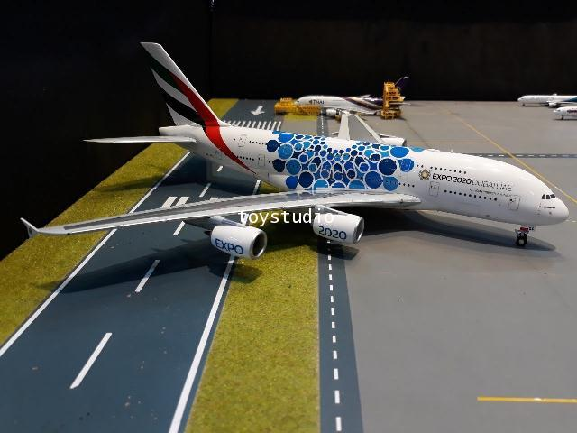 Herpa Wings 1:200 Emirates A380 Expo 2020 A6-EOC HW570800