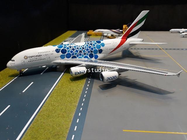 Herpa Wings 1:200 Emirates A380 Expo 2020 A6-EOC HW570800 1
