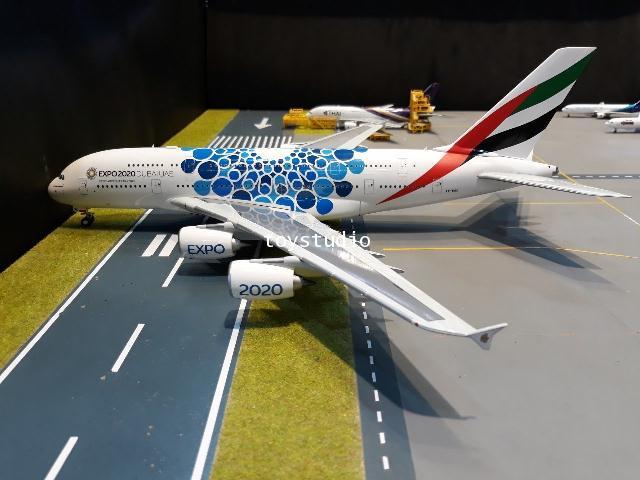 Herpa Wings 1:200 Emirates A380 Expo 2020 A6-EOC HW570800 2