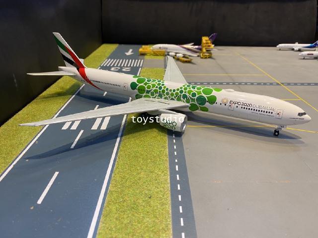 Herpa Wings 1:200 Emirates 777-300ER Expo 2020 Dubai A6-ENB HW570664