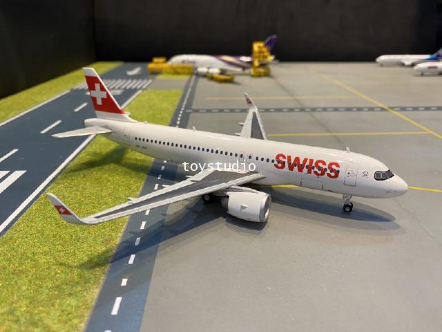 Herpa Wings 1:200 Swiss A320 neo Engelberg HB-JDA HW570947