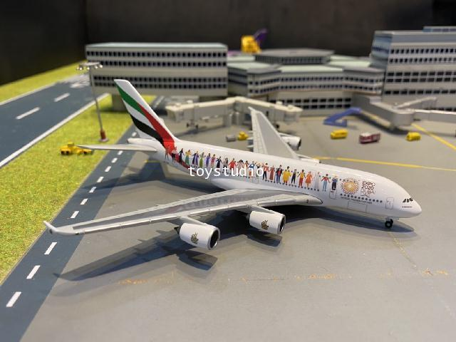 Herpa Wings 1:500 Emirates A380 Year of Tolerance A6-EVB HW534352