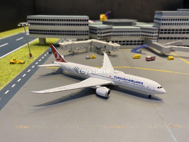 Herpa Wings 1:500 Turkish 787-9 Macka TC-LLA HW534055