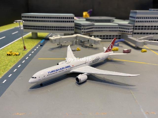 Herpa Wings 1:500 Turkish 787-9 Macka TC-LLA HW534055 1