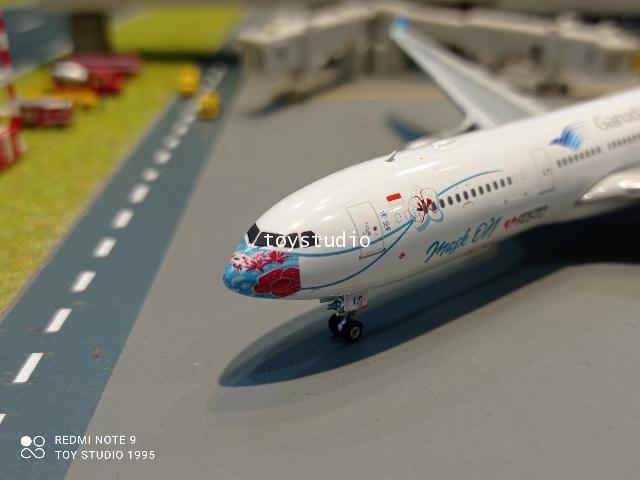 Phoenix 1:400 Garuda A330-300 PK-GHC Mask 4 PH1668 2