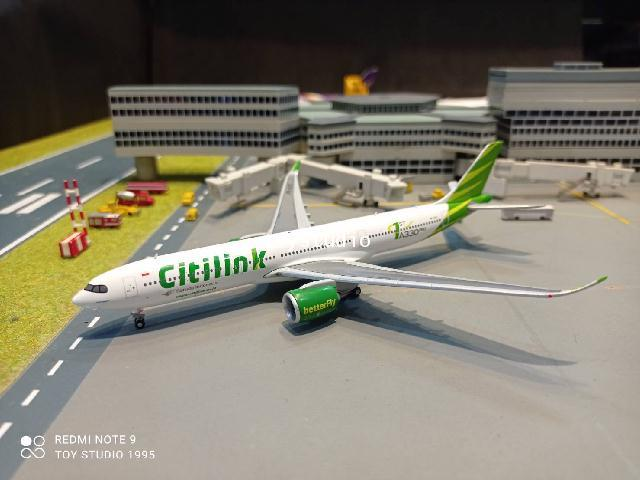 JCWings 1:400 Garuda Citilink A330-900NEO PK-GYC XX4399 1