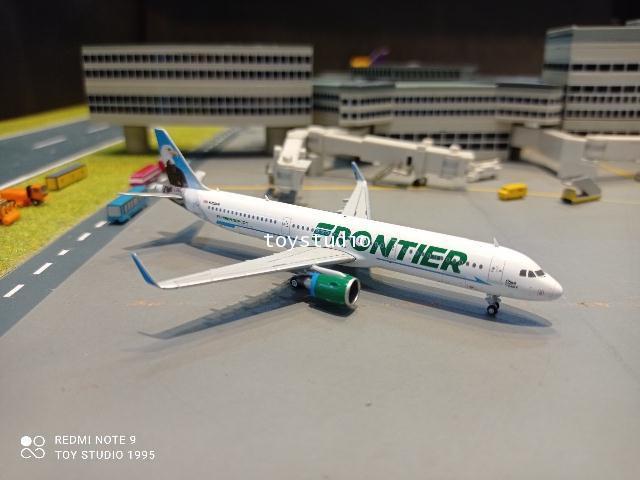Gemini Jets 1:400 Frontier A321 N709FR Steve the Eagle GJ1618