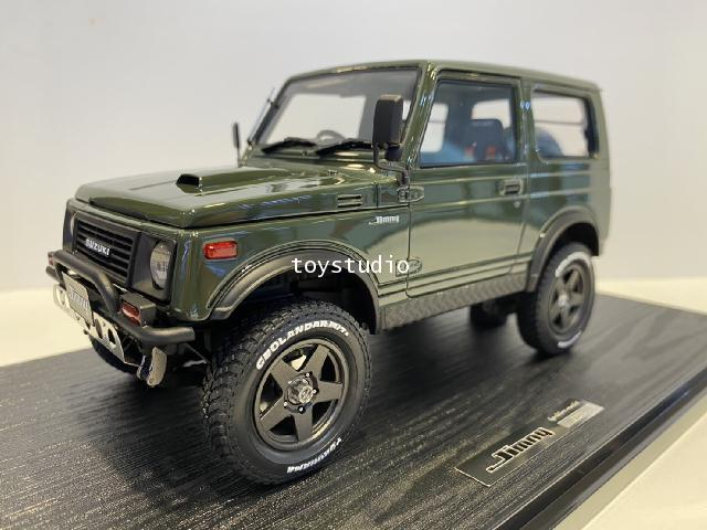 Ignition Model 1:18 Suzuki Jimny (JA11) Gre IG1718 1
