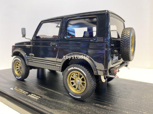 Ignition Model 1:18 Suzuki Jimny (JA11) Blk IG1717 3