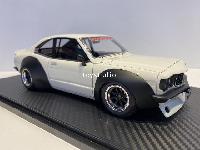 Ignition Model 1:18 Mazda Savanna (S124A) Racing Whi IG2033