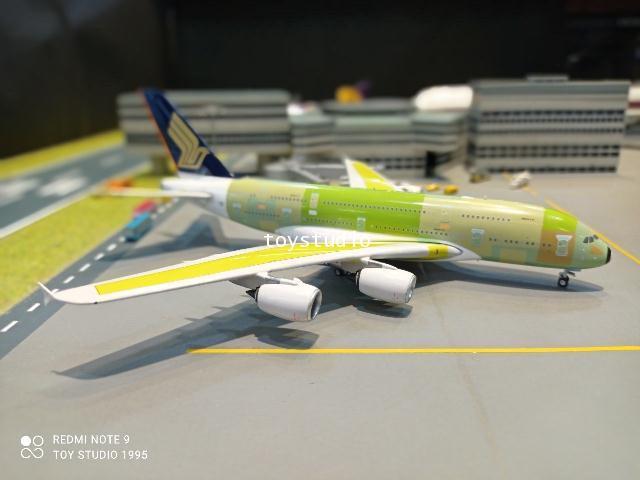 Phoenix 1:400 Singapore A380 F-WWST P4375