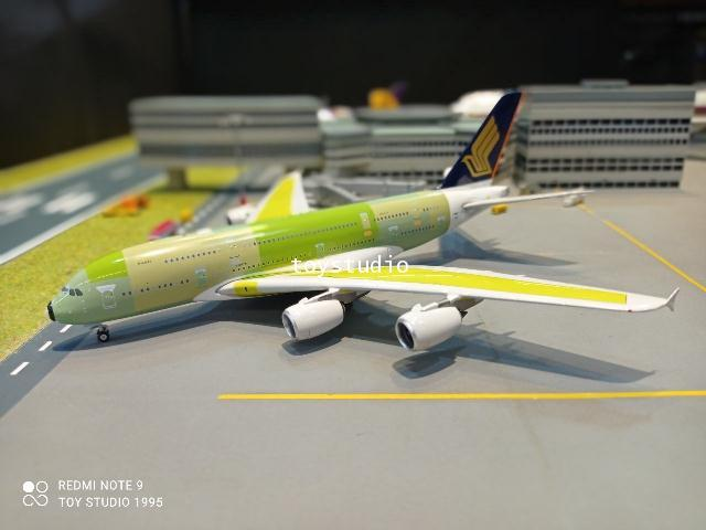 Phoenix 1:400 Singapore A380 F-WWST P4375 1