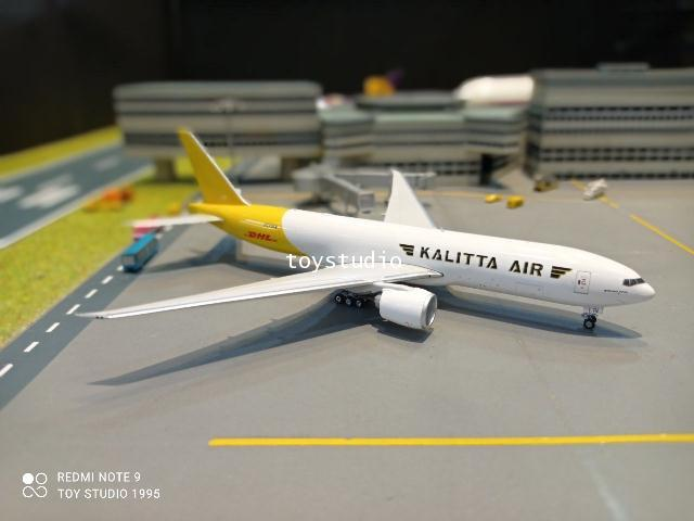 Phoenix 1:400 Kalitta Air DHL 777-200 N772CK P4380