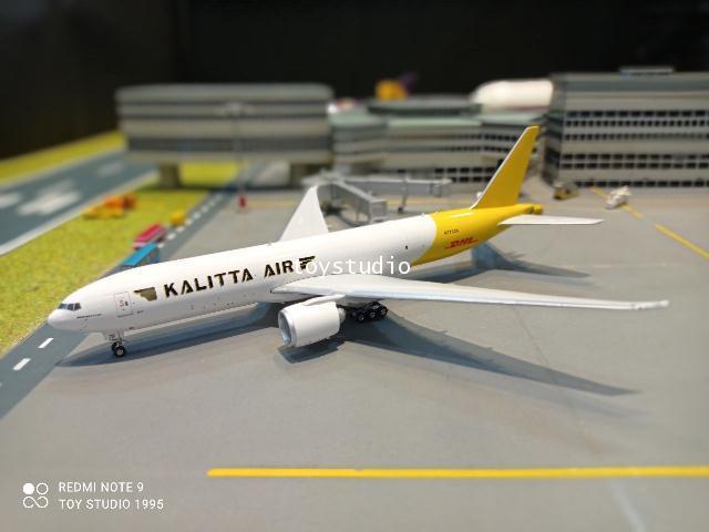 Phoenix 1:400 Kalitta Air DHL 777-200 N772CK P4380 1