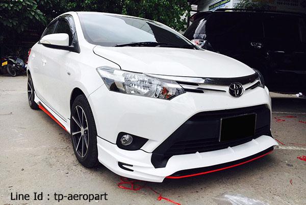 ชุดแต่งสเกิร์ตรอบคัน Toyota Vios STROM 2013 2014 2015 2016 7
