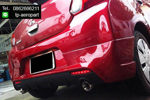ชุดแต่งสเกิร์ตรอบคันมิราจ Mitsubishi Mirage EVO-Sport 1