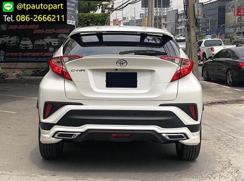 ชุดแต่ง Toyota CHR สเกิร์ตรอบคัน ซีเอชอาร์ 2017 2018 Modellisa 3