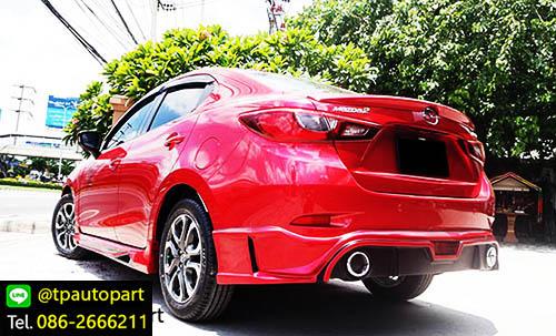 ชุดแต่งมาสด้า2 Mazda2 Sedan 4 ประตู STROM 2015 2016 2017 2018 3