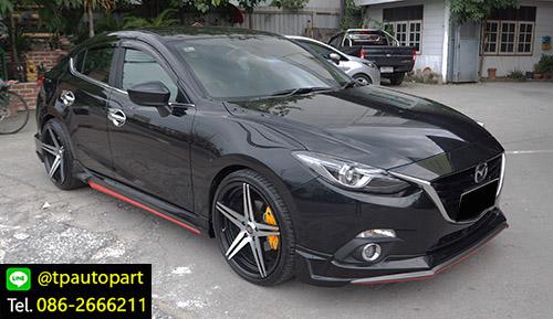 ชุดแต่ง Mazda3 Skyactiv 4 ประตู Sedan STROM สำหรับมาสด้า3 2014 2015 2016 2017