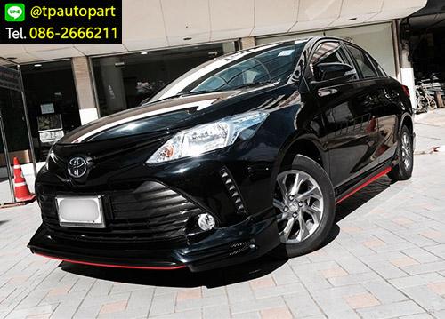 ชุดแต่งวีออส Toyota Vios 2017 2018 STROM สเกิร์ตรอบคัน