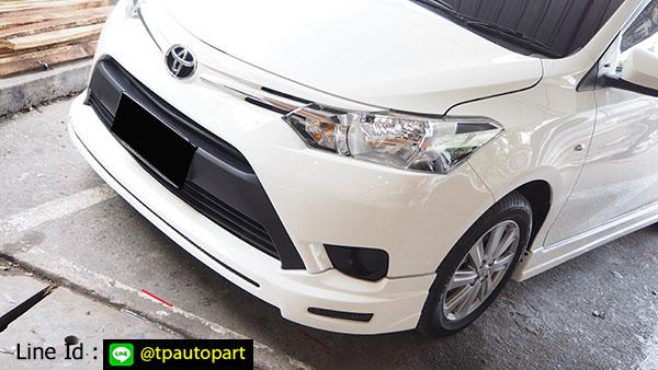 ชุดแต่งวีออส Toyota Vios 2013 2014 2015 2016 T-SportV2 สเกิร์ตรอบคัน 1