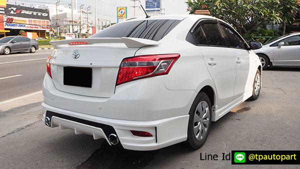 ชุดแต่งวีออส Toyota Vios 2013 2014 2015 2016 T-SportV2 สเกิร์ตรอบคัน 5