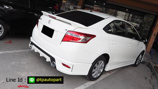 ชุดแต่งวีออส Toyota Vios 2013 2014 2015 2016 T-SportV2 สเกิร์ตรอบคัน 6