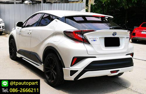 ชุดแต่ง Toyota CHR สเกิร์ตรอบคัน ซีเอชอาร์ 2017 2018 Modellisa V2 3