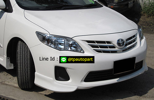 ชุดแต่งอัลตีส Toyota Altis 2010 2011 2012 2013 สเกิร์ตรอบคัน ทรง 2.0