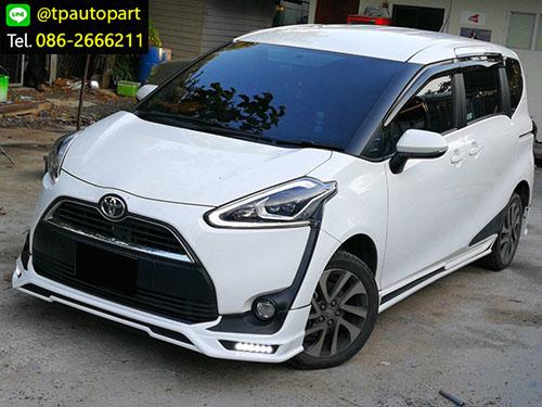 ชุดแต่งเซียนต้า Toyota SIENTA 2017 2018 Mz สเกิร์ตรอบคัน