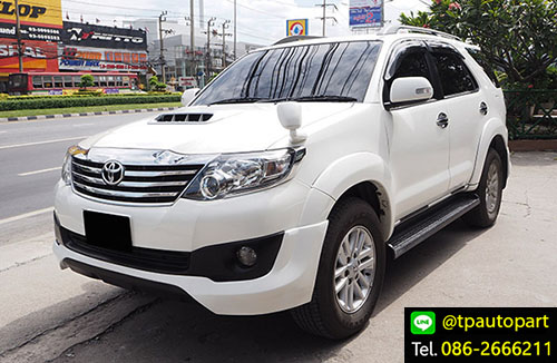 ชุดแต่งฟอร์จูเนอร์ Toyota Fortuner TRDD V4 2012 2013 2014