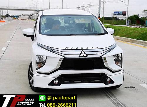 ชุดแต่ง Mitsubishi Xpander เอ็กซ์แพนเดอร์ 2018 OEM สเกิร์ตรอบคัน
