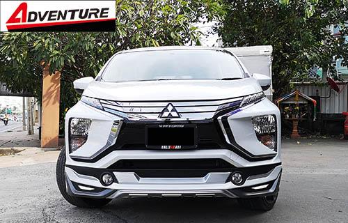 ชุดแต่ง Mitsubishi Xpander เอ็กซ์แพนเดอร์ 2018 Adventure สเกิร์ตรอบคัน 1