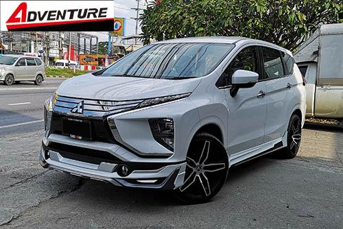 ชุดแต่ง Mitsubishi Xpander เอ็กซ์แพนเดอร์ 2018 Adventure สเกิร์ตรอบคัน 2